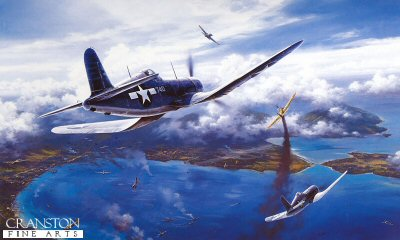 Gunfight Over Rabaul by Nicolas Trudgian. (B)