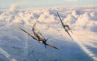 Combat Over London by Robert Taylor