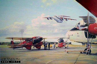 Queens Flight by Robert Taylor.