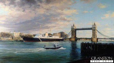 Royal Yacht Britannia by Robert Taylor.