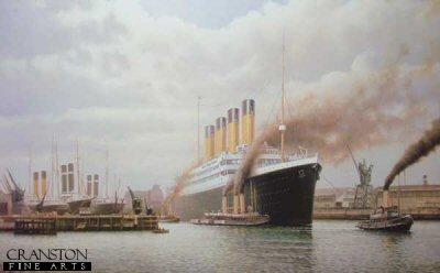 R.M.S. Titanic by Rodney Charman. (AP)