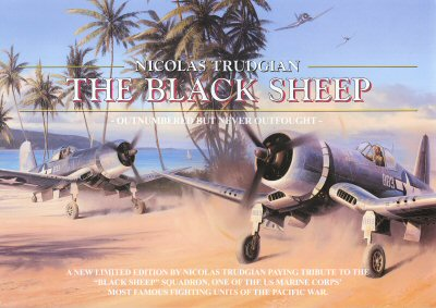 The Black Sheep by Nicolas Trudgian. (FLY)