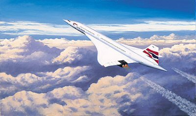 Concorde - Pride of Britain by Stephen Brown.