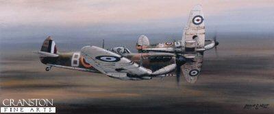 92 Squadron Supermarine Spitfire