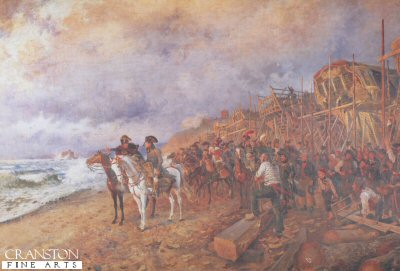 Napoleon at Boulogne by Maurice Orange.