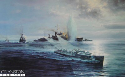 Night Attack on the Newcastle by Robert Taylor.