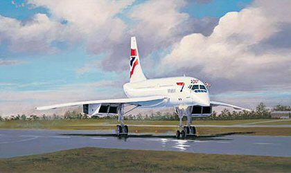 Concorde - The Pride of Bristol by Stephen Brown.
