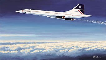 Concorde - The Supersonic Thoroughbred by Stephen Brown.