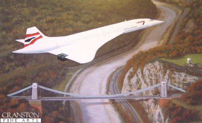 Concorde - Homeward Bound by Stephen Brown