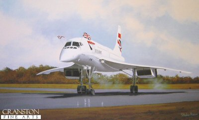 Concorde - Safely Home by Stephen Brown