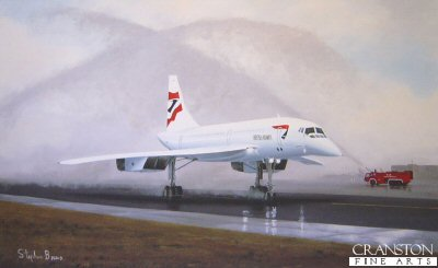 Concorde - The Last Goodbye by Stephen Brown.