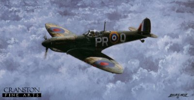 Supermarine Spitfire MkI by Philip West.