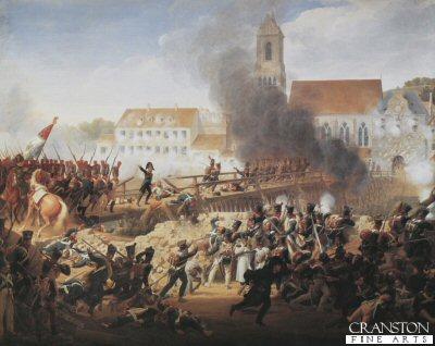 Passage Du Pont de Landshut by Louis Hersent (Battle of Landshut, 21st April 1809) (B)