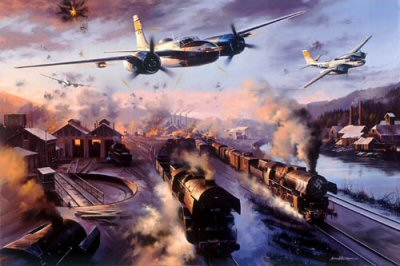 Ruhr Valley Invaders by Nicolas Trudgian.