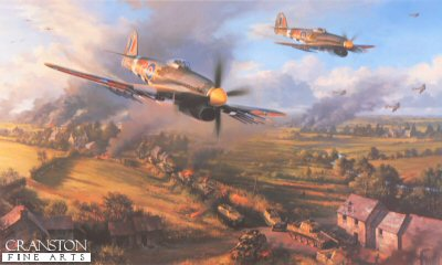 Typhoons at Falaise by Nicolas Trudgian.