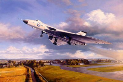 Vulcan Thunder by Nicolas Trudgian.