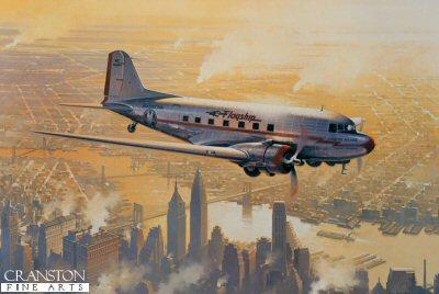 Flagship Over Manhattan by Robert Watts (AP)