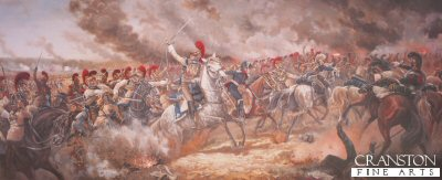 La Moscowa, The Battle of Borodino, 7th September 1812 by Mark Churms. (B)