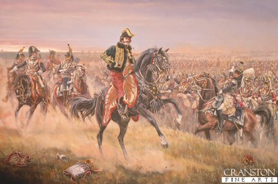 La Salle at the Battle of Wagram by Mark Churms (Y)