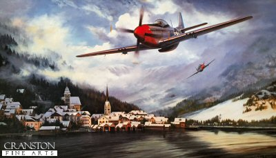 Mustangs over the Reich by Stephen Brown.