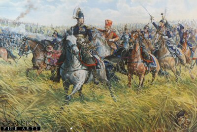 Marshal Ney at the Battle of Waterloo by Mark Churms. (B)