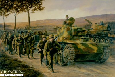 Last of the Honved, Eastern Hungary, Autumn 1944 by David Pentland. (GS)