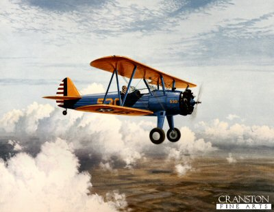 Stearman PT17 by Gerald Coulson.