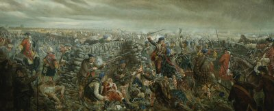 Battle of Culloden by Mark Churms. (AP)