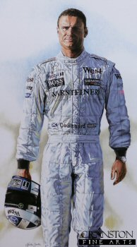 David Coulthard by Martin Smith
