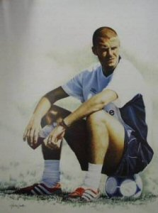 David Beckham by Martin Smith.