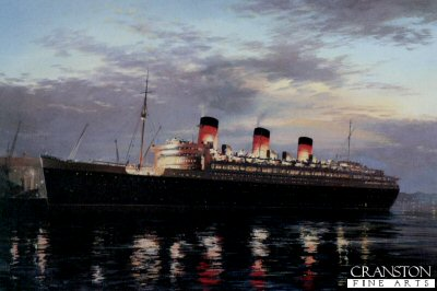 RMS Queen Mary (1936) The Voyage Ahead by John Young.