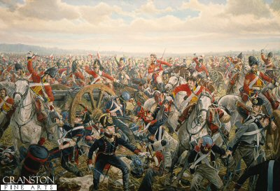 Charge of the Union Brigade by Mark Churms. (P)