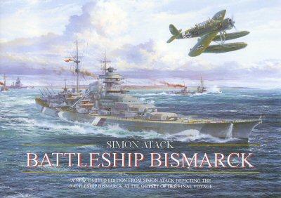Battleship Bismarck by Simon Atack. (FLY)