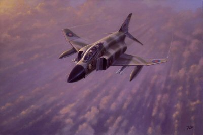 Phantom FGR 2 of III Squadron by Geoff Lea.