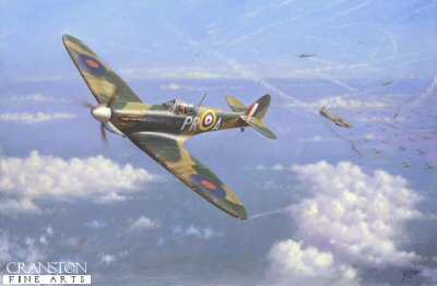 Fine Art Print WWII Fighter Aircraft MKIA XXIV MKVB THE SUPERMARINE SPITFIRE