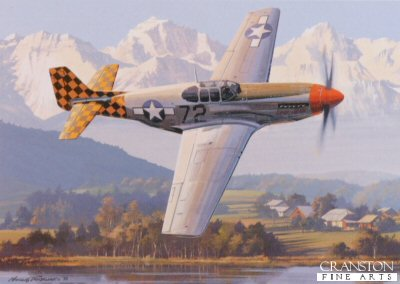 P-51 Mustang by Nicolas Trudgian.