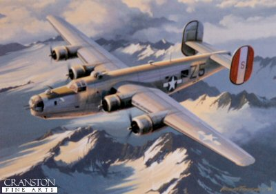 B-24 Liberator by Nicolas Trudgian.