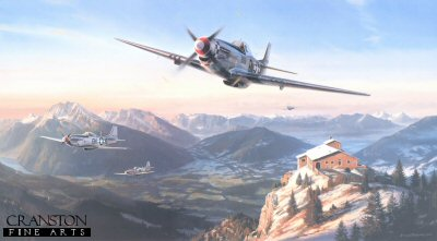 Mustangs Over the Eagles Nest by Nicolas Trudgian.