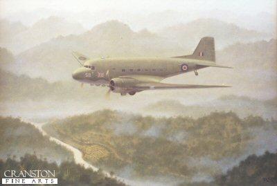 Dakota Over Burma by Geoff Lea.