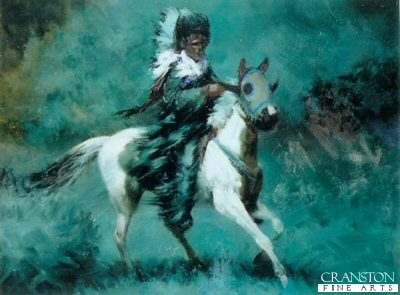 Chief Horned Horse by Bud Bradshaw. (GS)