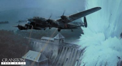 Dambusters - Breaching the Eder Dam by Robert Taylor. (C)