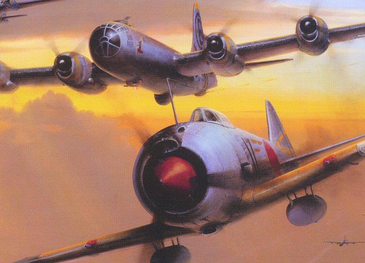 当时日本的战斗机能飞到b-29的高度吗