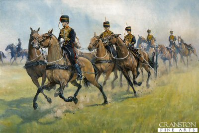 Roller Coaster, Kings Troop R.H.A Number 1 dress. by Mark Churms. (XX)