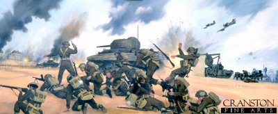 D-Day Gold Beach, 6th June 1944 by Simon Smith. (P)