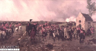 Wellingtons March From Quatre Bras to Waterloo by Ernest Crofts.