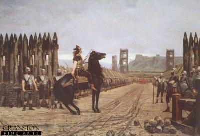 Vercingetorix Surrendering to Caesar by Henri-Paul Motte.