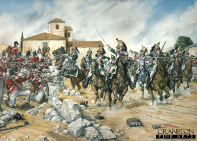 87th Regiment at the Battle of Vitoria by Brian Palmer. (PC)