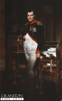 Portrait of Napoleon by Jacques Louis David (B)