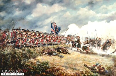 The Battle of Culloden, 16th April 1746 by David Rowlands.