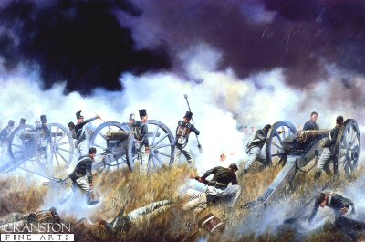 The Battle of Talavera, 27th-28th July 1809 by David Rowlands.